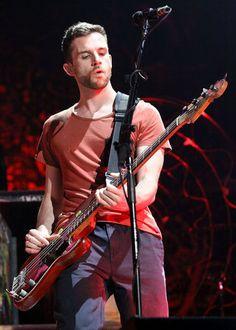 Coldplay Guy Berryman