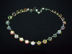 Vintage 1940's or 50's bezel set aurora by RetroRecyclables, $35.00 SOLD