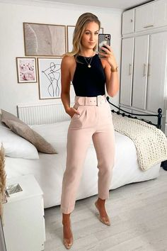 Glamouröse Outfits, Casual Work Outfits, Business Casual Outfits, Professional Outfits, Work Attire, Classy Outfits, Stylish Outfits, Fashion Outfits, Summer Formal Outfits