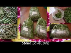 Φασολάκια Φρέσκα στον καταψύκτη - How will I store the green beans in my freezer/ Stella Love Cook - YouTube Greek Cooking, Tasty Dishes, Cucumber, Make It Simple, Mason Jars, Food And Drink, Dips, Easy, Kitchens