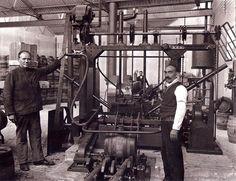 Antigua fábrica de la Mahou. 1930