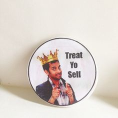 Parks & Rec Treat Yo Self  Magnet by UberDorkDesigns on Etsy