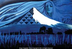 Image result for maori art Maori Art, Homework, Landscapes, Canvas Art, Vibrant, Waves, Artwork, Image, Paisajes