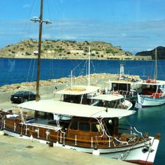Spinalonga, Crete, Greece - view from Plaka. Wanted to visit the island after reading the book 'The Island'. Loved it.