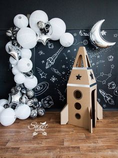 Be inspired by this incredible rocket decoration. More at circu.net.