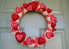 valentine wreath   Flickr - Photo Sharing!