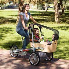 трехколесный велосипед  для мамы