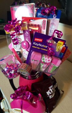 My Office Supply Bouquet to say 'Thanks' to our admin on Administrative Professionals Day!