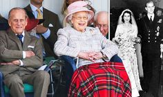 Queen and Prince Philip wedding anniversary: 'He's her rock' Royals pay tribute to Duke