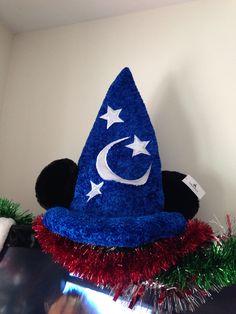 My new sorserer hat from walt Disney world