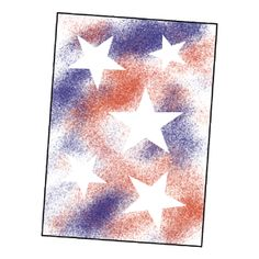 A cute art project. Can be used with any shapes and colors...not just for Veteran's Day.