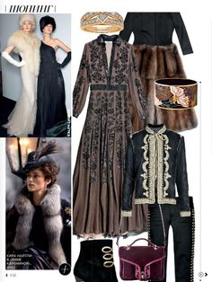 Anna Karenina, Vogue, Russian Couture