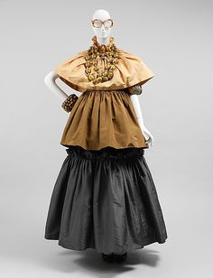 One of Iris Apfel's outfits, displayed at the Met's 2005 Rara Avis exhibition celebrating her collection.