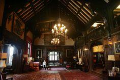 The ceiling in Glenridge Hall.