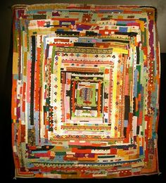 Patchwork quilts by Africans in India, at the Museum of the African Diaspora.