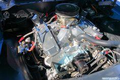 Pontiac Firebird Trans Am, with GM big-block V-8 engine swap.