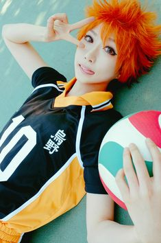 Shoyo Hinata (Haikyu!!) by SAIDA - COSPLAY IS BAEEE!!! Tap the pin now to grab yourself some BAE Cosplay leggings and shirts! From super hero fitness leggings, super hero fitness shirts, and so much more that wil make you say YASSS!!!