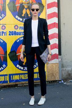 Milan Fashion Week Spring 2014 Models Pictures - StyleBistro