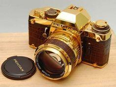 Gold Camera ! idaman!