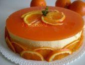 Bavarese all' arancia