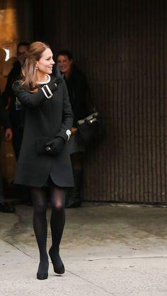 Kate Middleton wearing Goat in Harlem 12/8/14