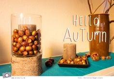 Hallo Herbst <3  #Herbst #Autumn #Dekoration #Decoration #Fall #DIY #Basteln #BastelnmitKindern #Kids