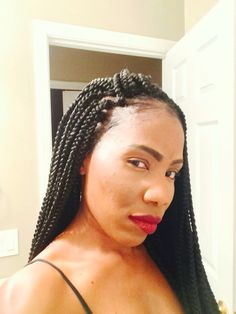 ... size/long) Box braids Pinterest Crochet, Medium and Crochet box