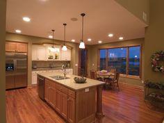 Wood Surrounds this Delightful Kitchen | Plan 091D-0021  houseplansandmore.com  #kitchen #interiordesign