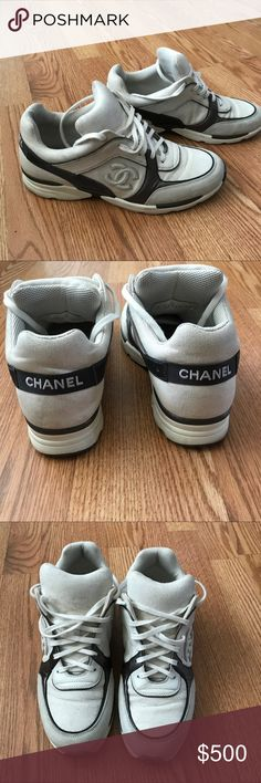mens Authentic Chanel sneakers size 9. good used condition but could use a little cleaning. CHANEL Shoes Sneakers