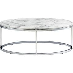CB2, smart round marble top coffee table in accent tables, $349 (maybe -- if there's enough space)