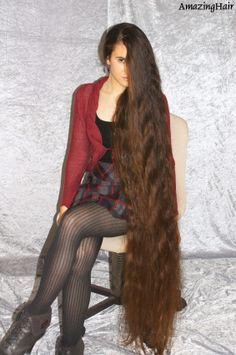 very beautiful long hair