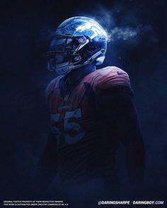 Bradley Chubb, Denver Broncos | Daring Boy Interactive