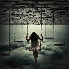 Dark artistic art photography