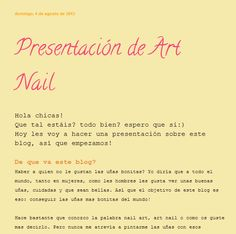 Presentación del blog. 04/08/2013 (1)