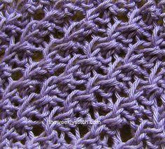 Diagonal Crepe Stitch   The Weekly Stitch