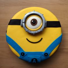 Minion taart ;-) More