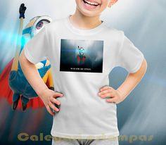 Calegari estampas: Camisetas dos minions pros pimpolhos. Só R$ 29,90
