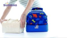 Sunveno Lunch & Tiffin Bag for kids & parents Sunveno Diaper Bag, Trendy Diaper Bags, Cold Food, Cold Meals, Kids Bags, New Moms, Baby Items, Lunch Box, Milk