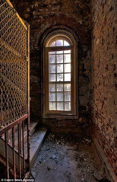 old, abandoned asylum...