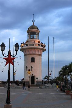 Lighthouse in Equador