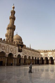 Al-Azhar Mosque. Cairo,Egypt.