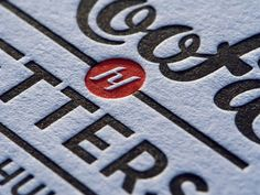 Hoofd&Letters - Logo, identity & business cards