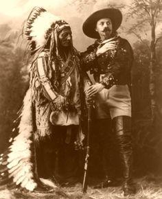 Sitting Bull and Bill Cody