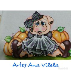 Artes Ana Vilela Pig Drawing, Pig Illustration, Sewing Rooms, Colouring Pages, Fabric Painting, Painted Rocks, Bowser, Applique, Patches