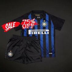 52e226514 2018-19 Cheap Youth Kit Inter Milan Home Replica Blue Suit  CFC134  Cheap