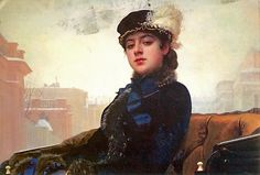 Ivan Kramskoy (Russian artist, 1837-1887) A Woman, 1883It's About Time: A Rippl-Ronai