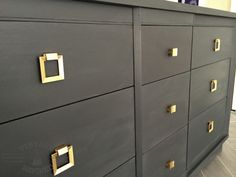Contemporary Dresser, Hello Gold Hardware!!! — Vintage Refined