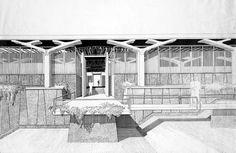 Paul Rudolph, Heritage Foundation, School Architecture, Connecticut, Biography, Infographics, Perspective, Presentation, University