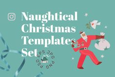 The holidays are just around the corner, so get your Christmas promotions wrapped and ready! Spread some festive cheer to your customers by using this stylish and funny IG templates. The set contains two types of templates: six square templates for your Insta feed, and six promotional Insta stories templates. $29 #sponsored #ad
