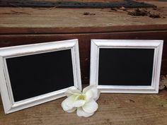 Chalkboards Wedding Chalkboards Set of 2 by DawsonDesignsDecor, $12.95